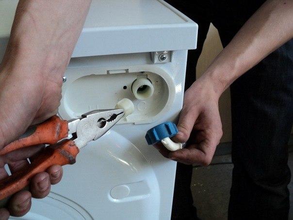 Фильтр стиральной машины - автомат