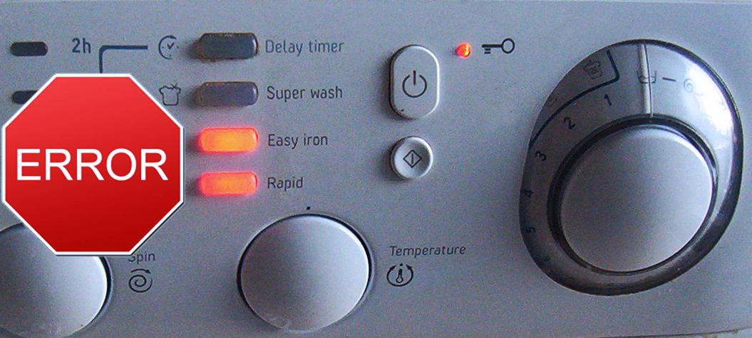 Ошибка F01 стиральной машины Аристон (Hotpoint Ariston)