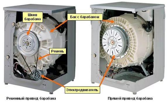 Двигатель инверторный и асинхронный стиральной LG